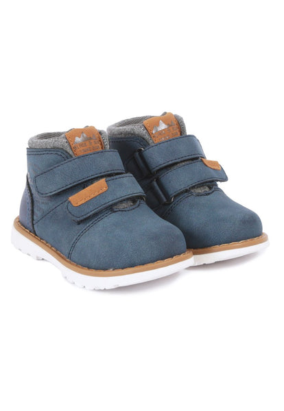 Botin Chic Caminante Azul Black and Blue