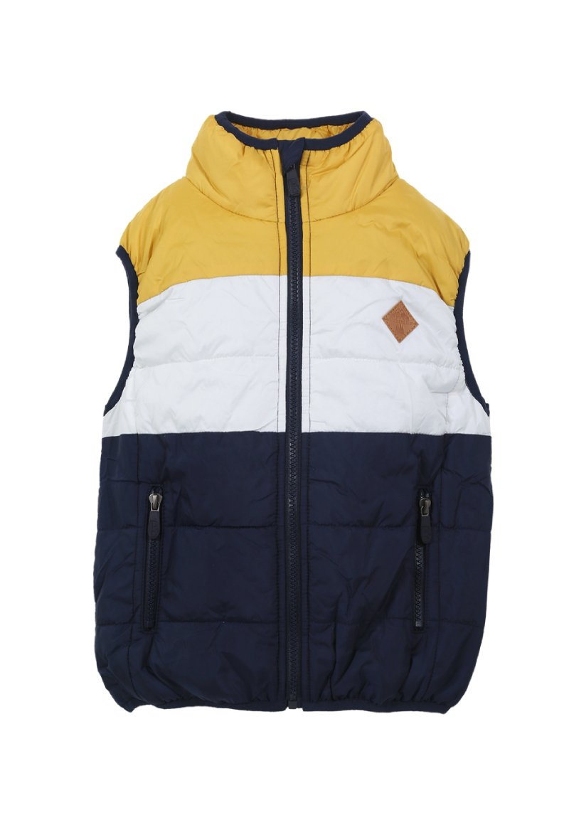 Parka Martin Bebé Mostaza Black and Blue