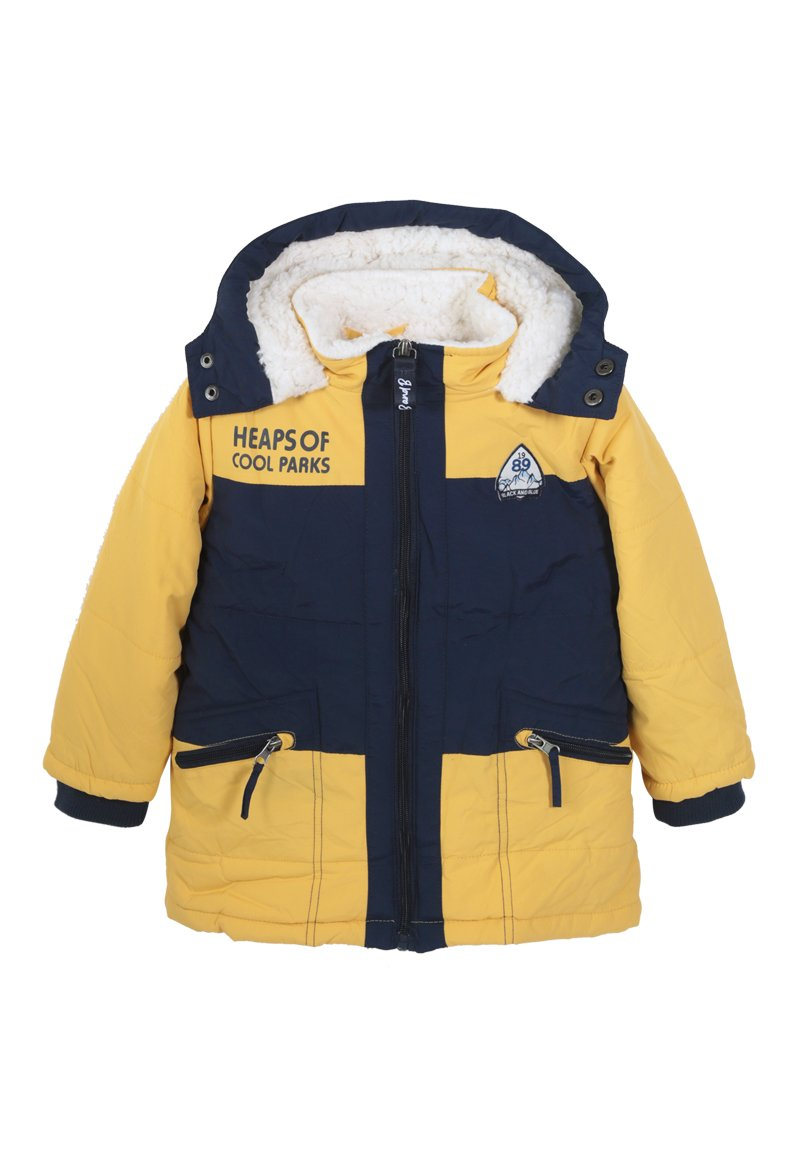 Parka Andrew Niño Mostaza Black and Blue