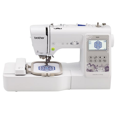 Brother SE600 Sewing, Quilting, and Embroidery Machine
