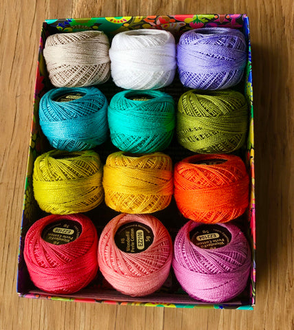 Perle Cotton Thread 8wt - Colour Packs