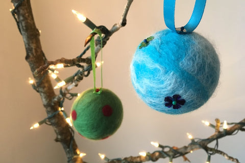 Felted Baubles: Beginner