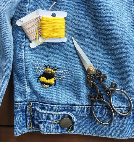 Visible Mending Bee