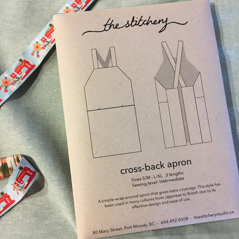 Cross-Back Apron Pattern