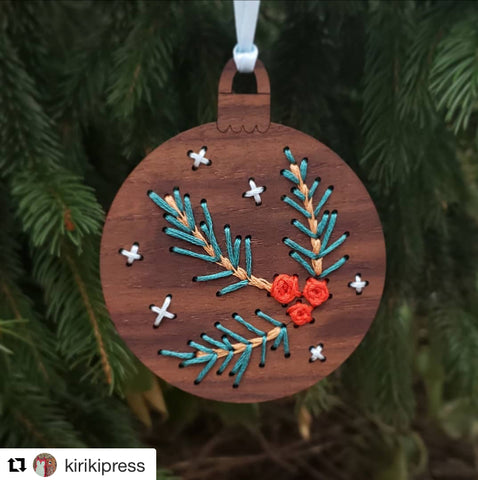 Wooden Ornament Kit