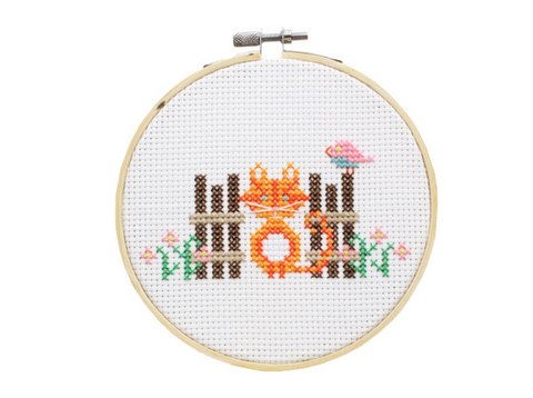 Cross Stitch Kit Mini - Cat