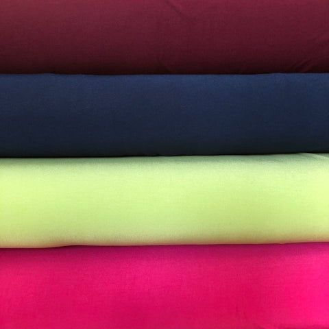 Bamboo Jersey - 4 colours