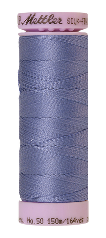 Cotton Thread 150m - blues, greens