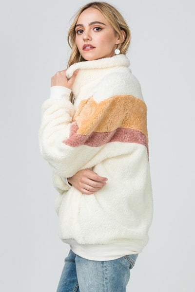 Fleece Teddy Bear Pullover