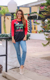 Grinches Be Crazy Baseball Christmas Tee
