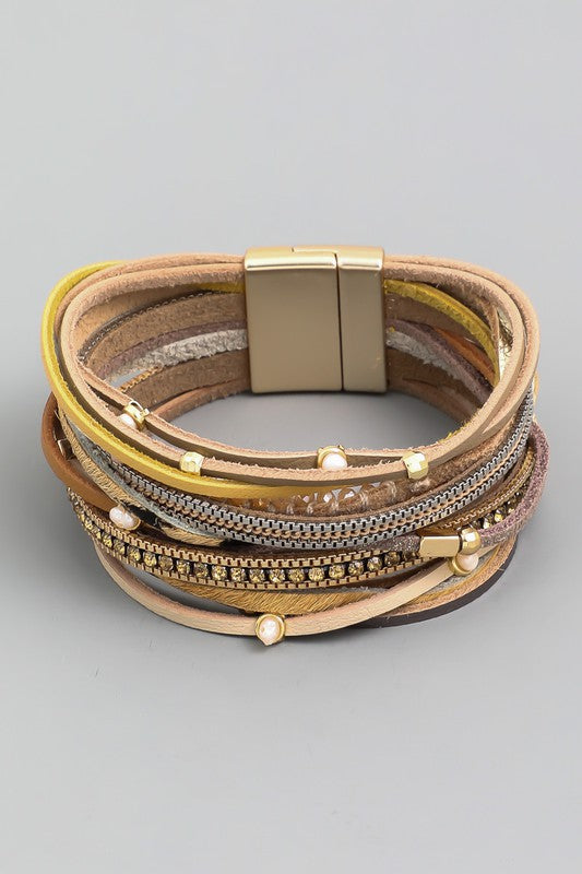 Assorted Multi Strand Magnetic Bracelet
