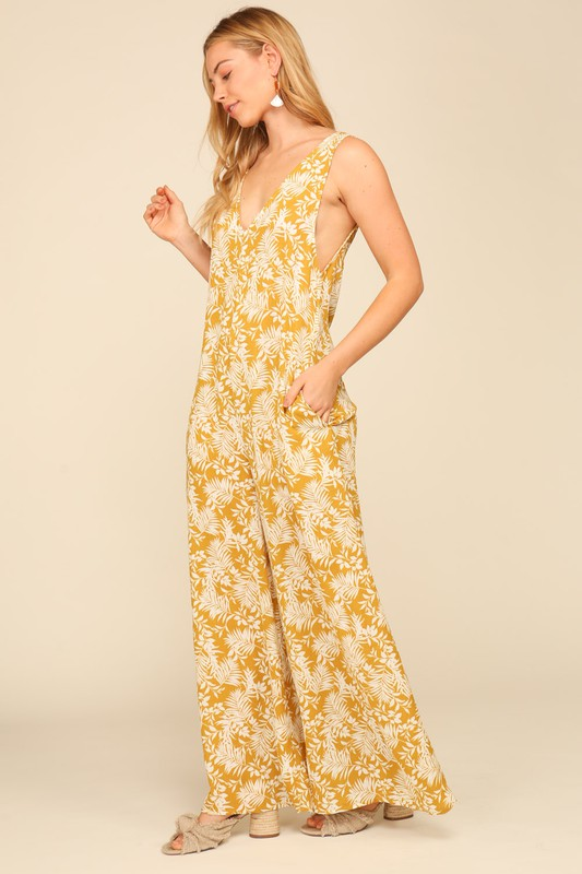 Floral Vacation Jumpsuit