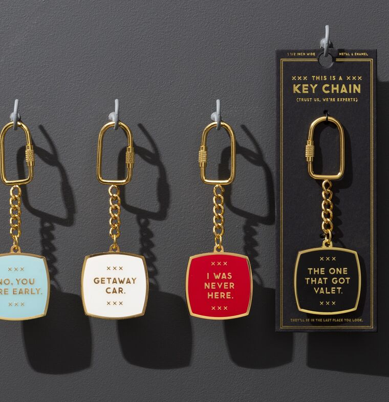 Key Chains that Talk