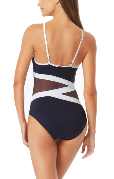 Hot Mesh One Piece by Anne Cole