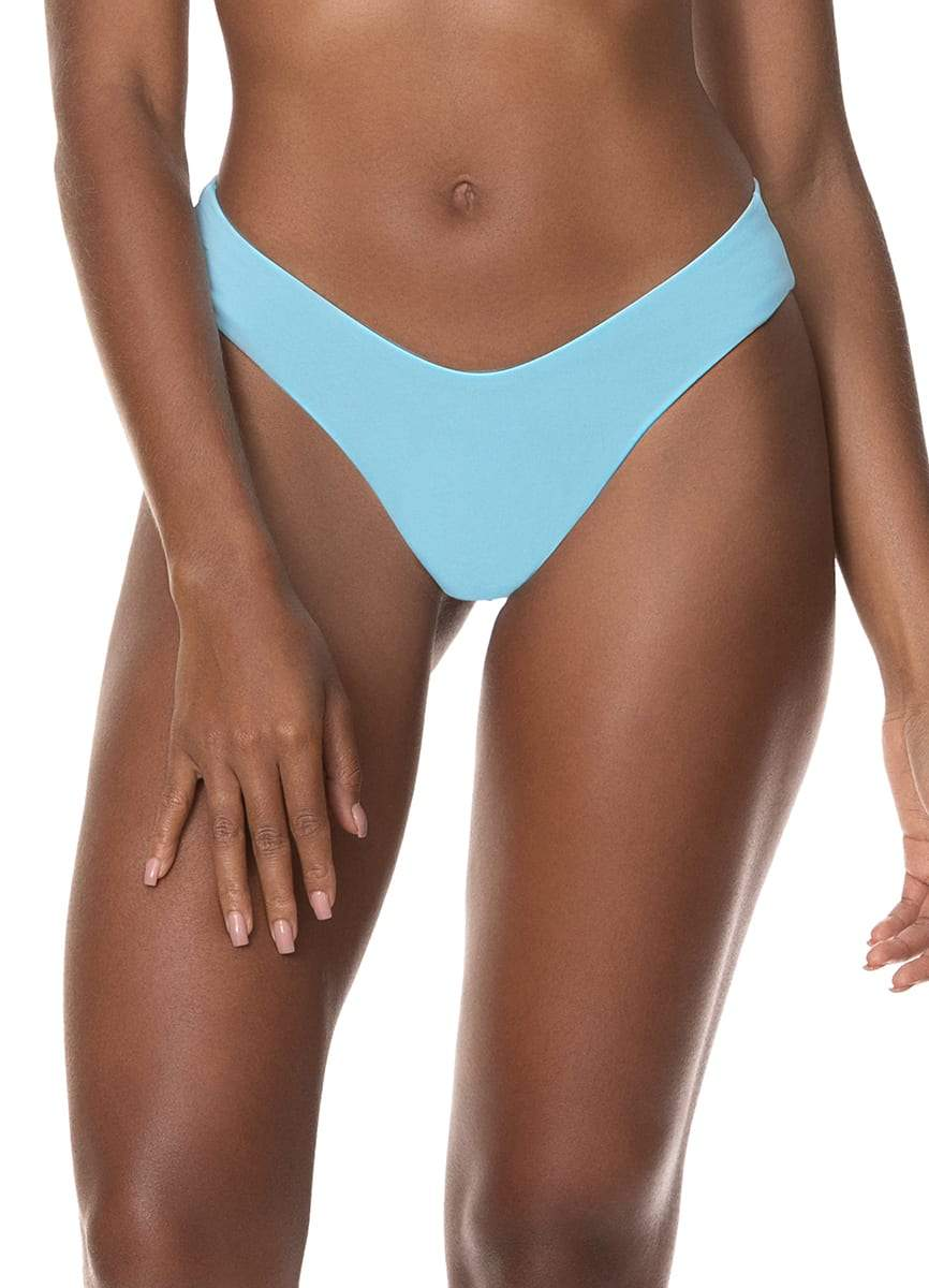 Maaji Cloud Blue Valery Double V Bikini Bottom