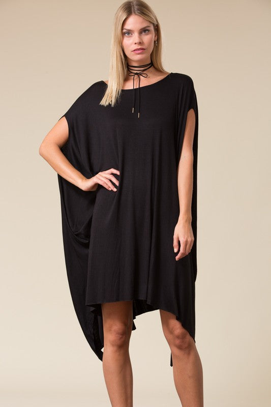 Handkerchief Poncho Dress