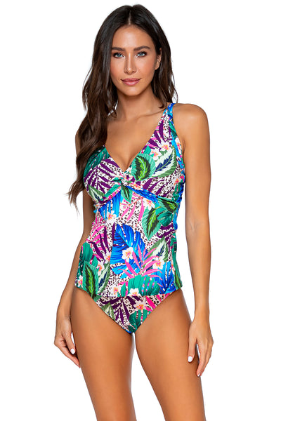 UNDERWIRE TWIST FOREVER TANKINI T SIZING