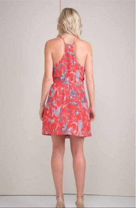 Sidney Silk Print Cami Dress