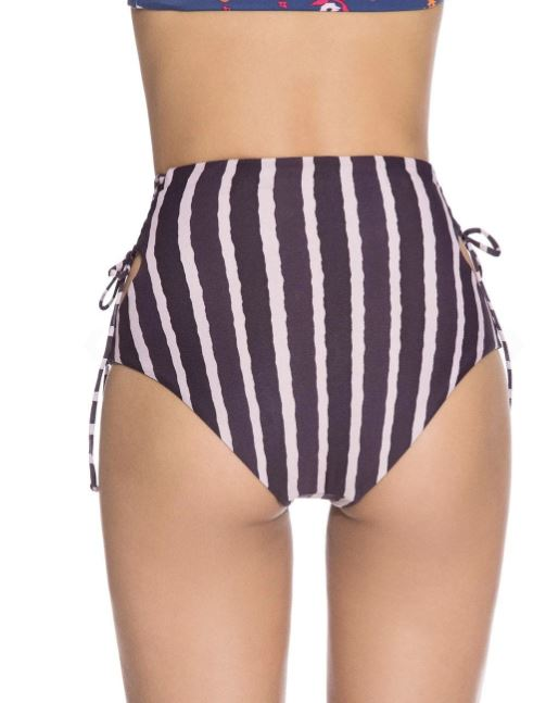 acai smoothie cutout high waist bikini bottom