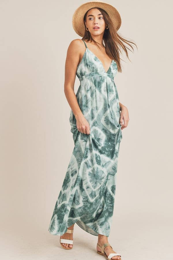 Tamia Tie Dye Maxi Dress