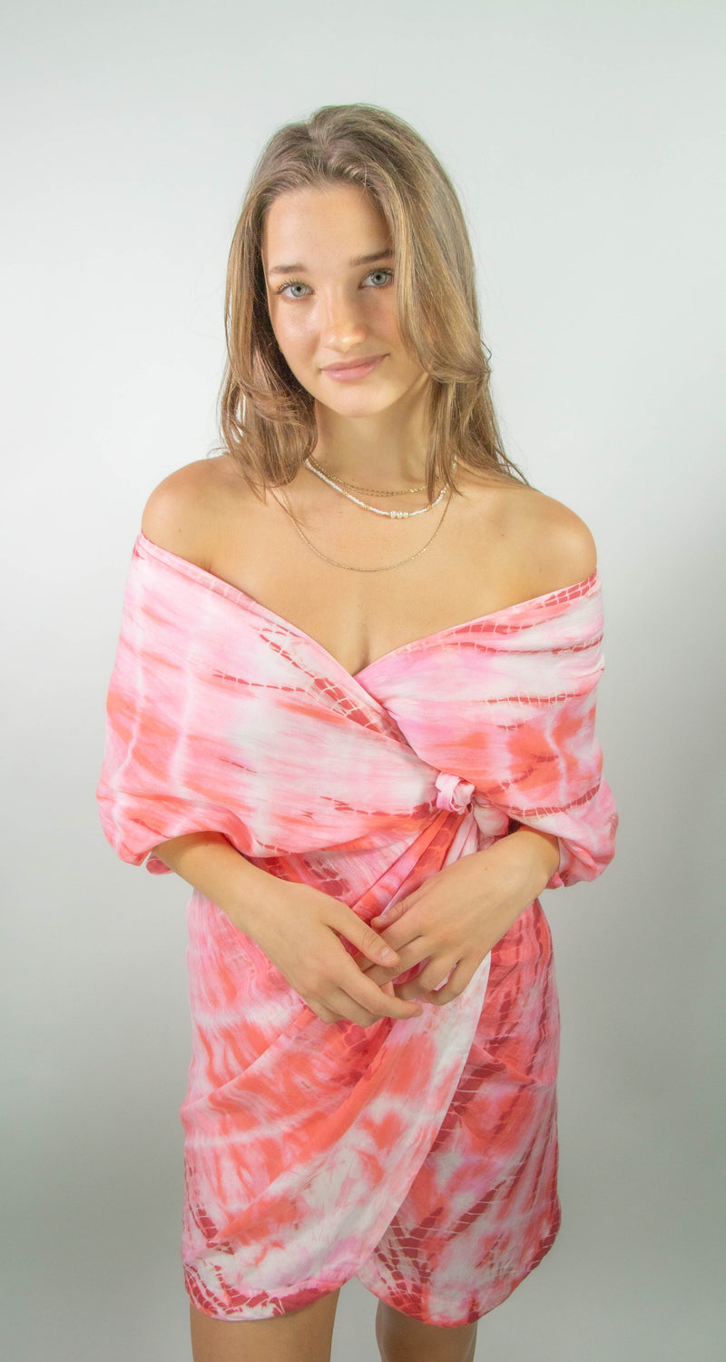 Coral Reef Tie Dye Dress
