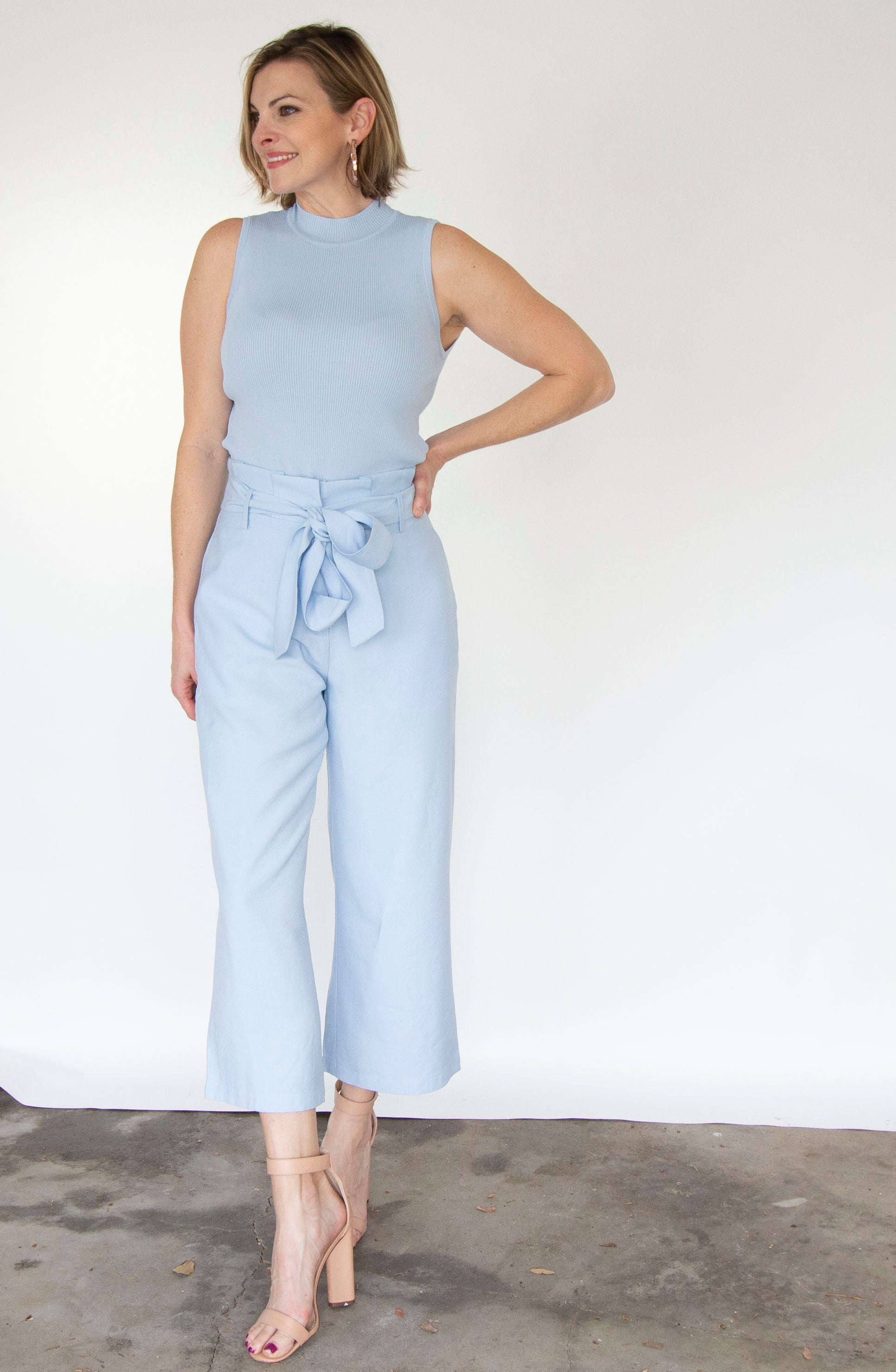 Whitney Belted Pant by Lucy Paris
