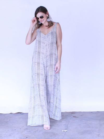 Wide Leg Oversized Jumpsuit