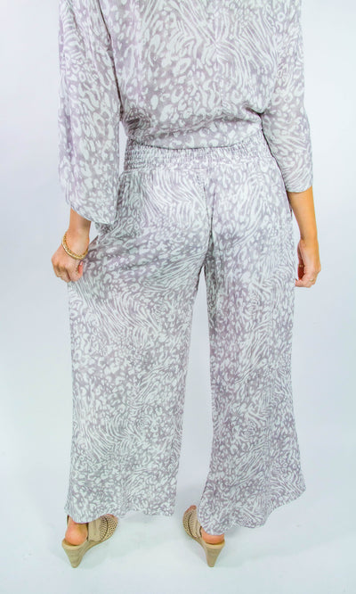 Soft Leopard Beach Pants