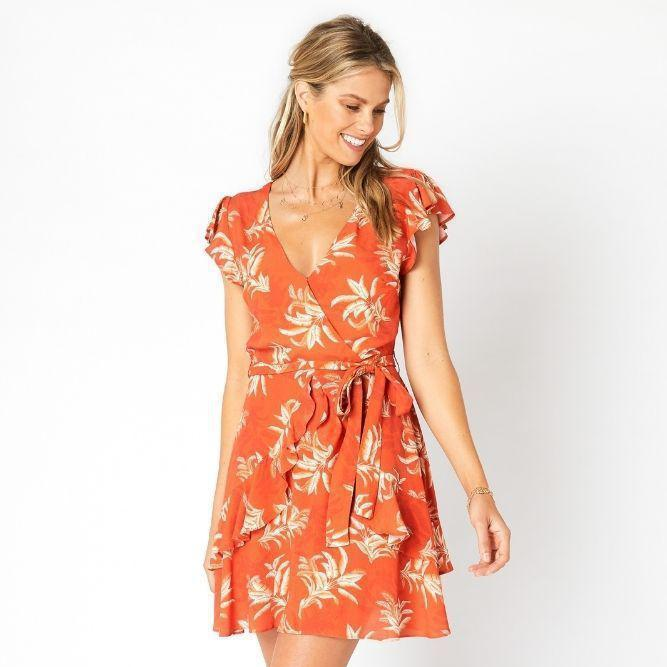 Las Palmas Mini Dress by MinkPink