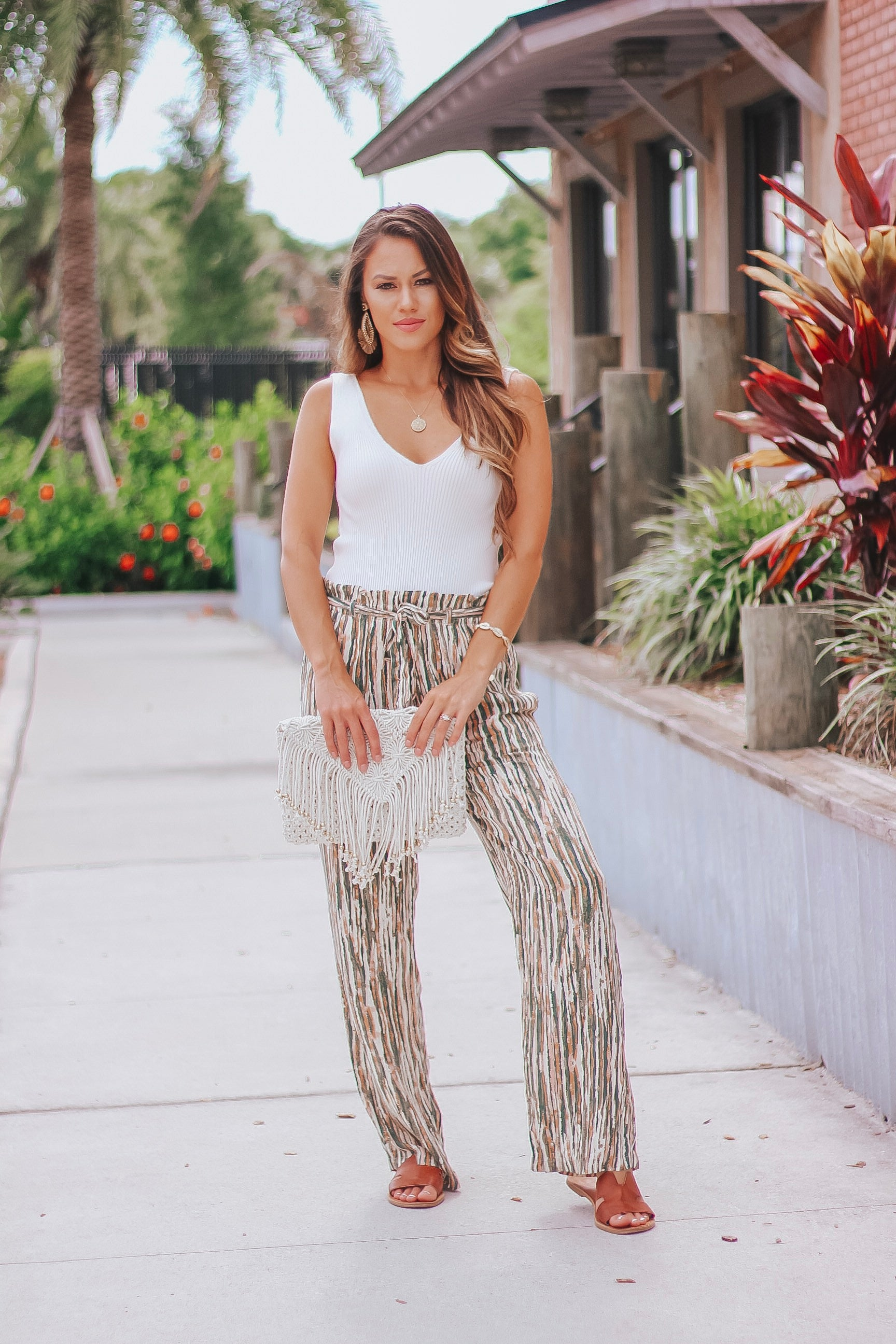 Noelle Paper Bag Pants