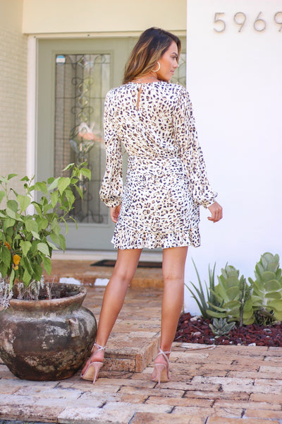Tamara Leopard Print Dress by Greylin