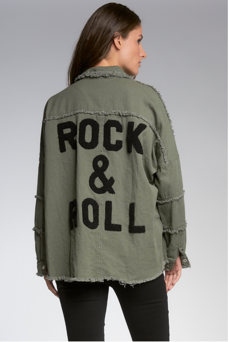 Rock & Roll Distressed Jacket
