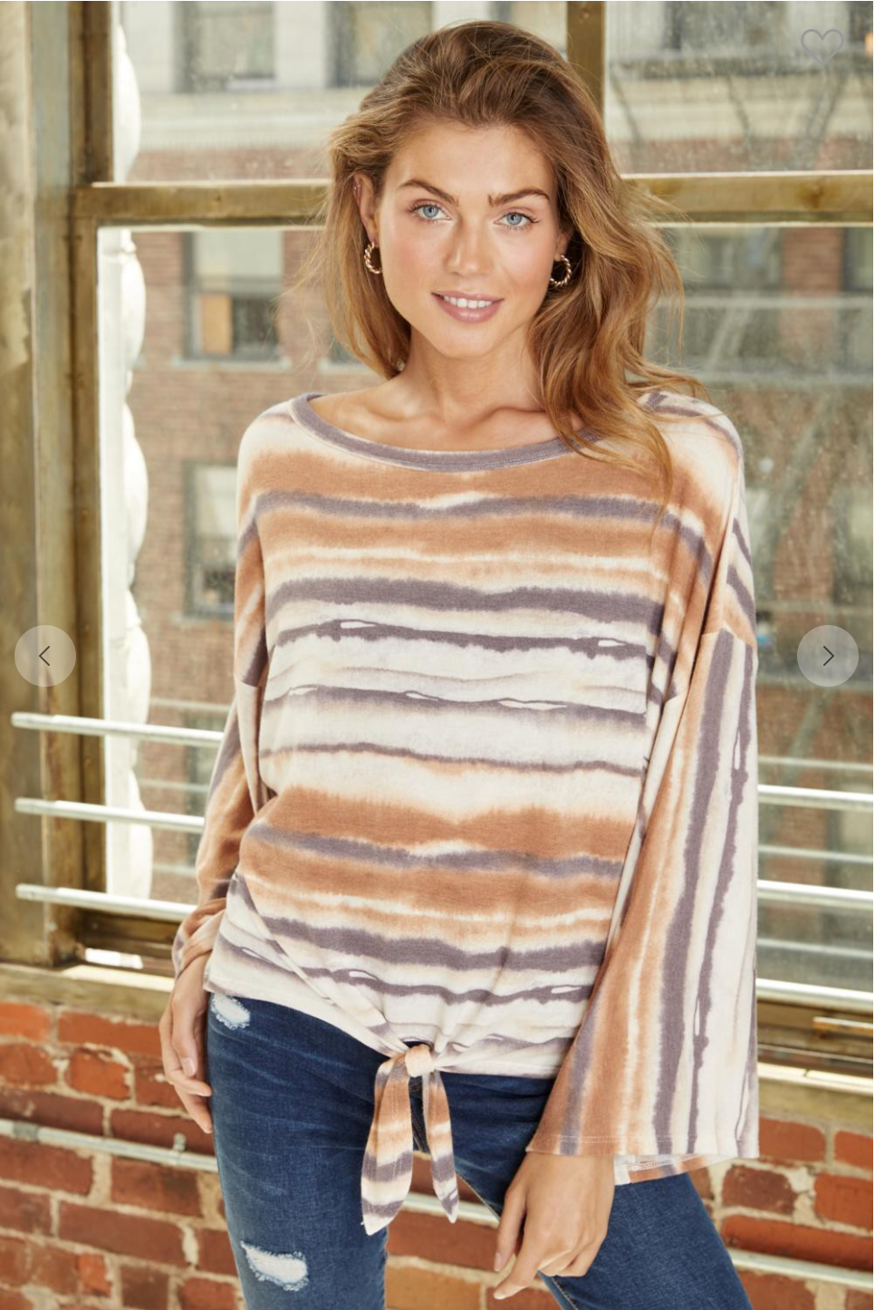 Stripes French Terry Long Sleeves