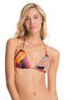 Maaji Foliage Fever Balmy Reversible Sliding Triangle Bikini Top