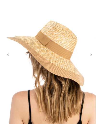 Floppy Straw Sun Hat