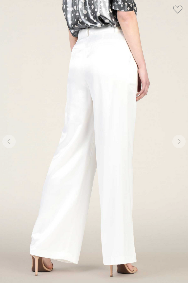 Shimmer with Me White Pants