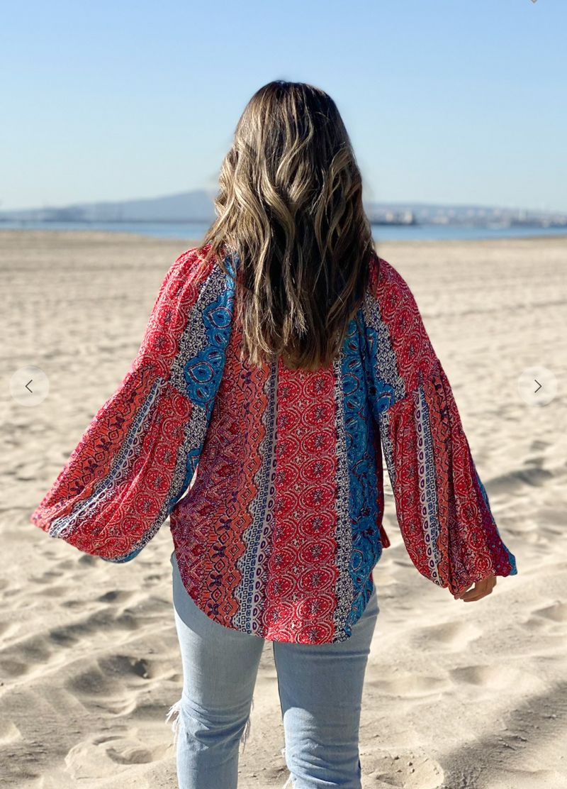 Boho Marrakesh Top