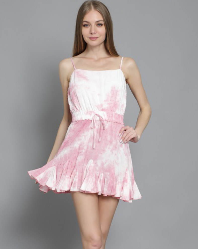 Pink Clouds Mini Dress