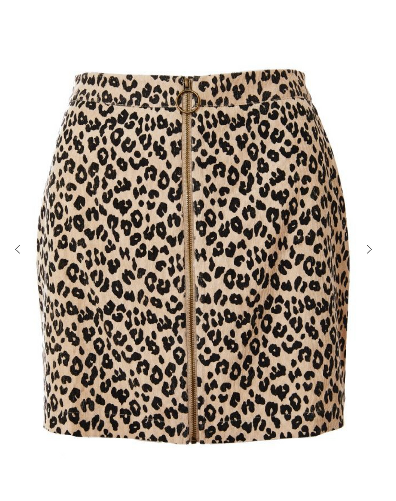 DANCING QUEEN LEOPARD SKIRT