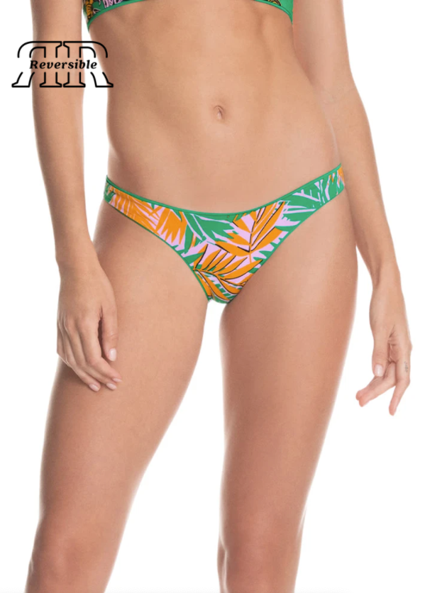 Maaji Grass Green Flirt Thin Side Bikini Bottom