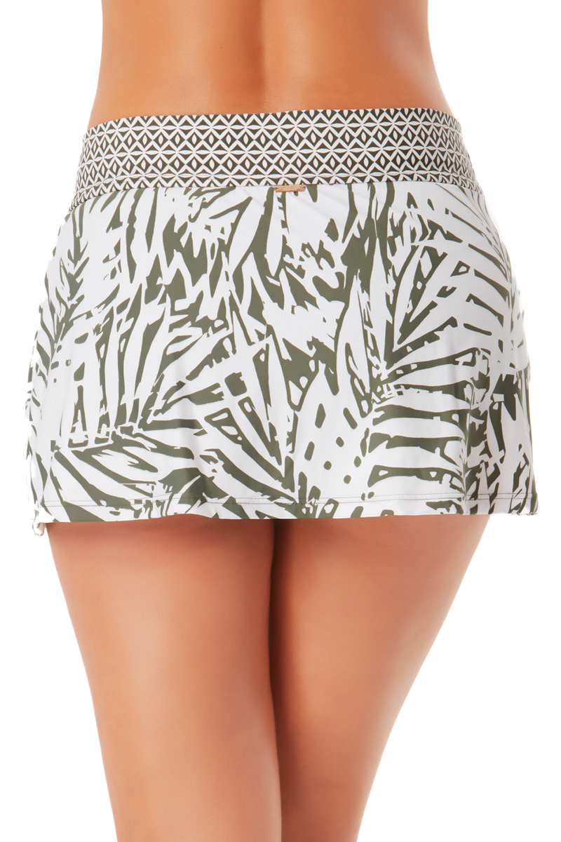 Banded Swim Skirt in Palm Breeze by Anne Cole