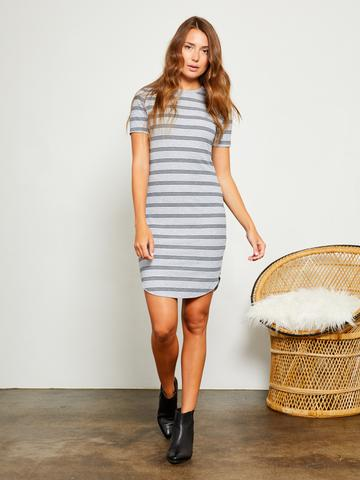 Striped T-Shirt Dress by Gentle Fawn