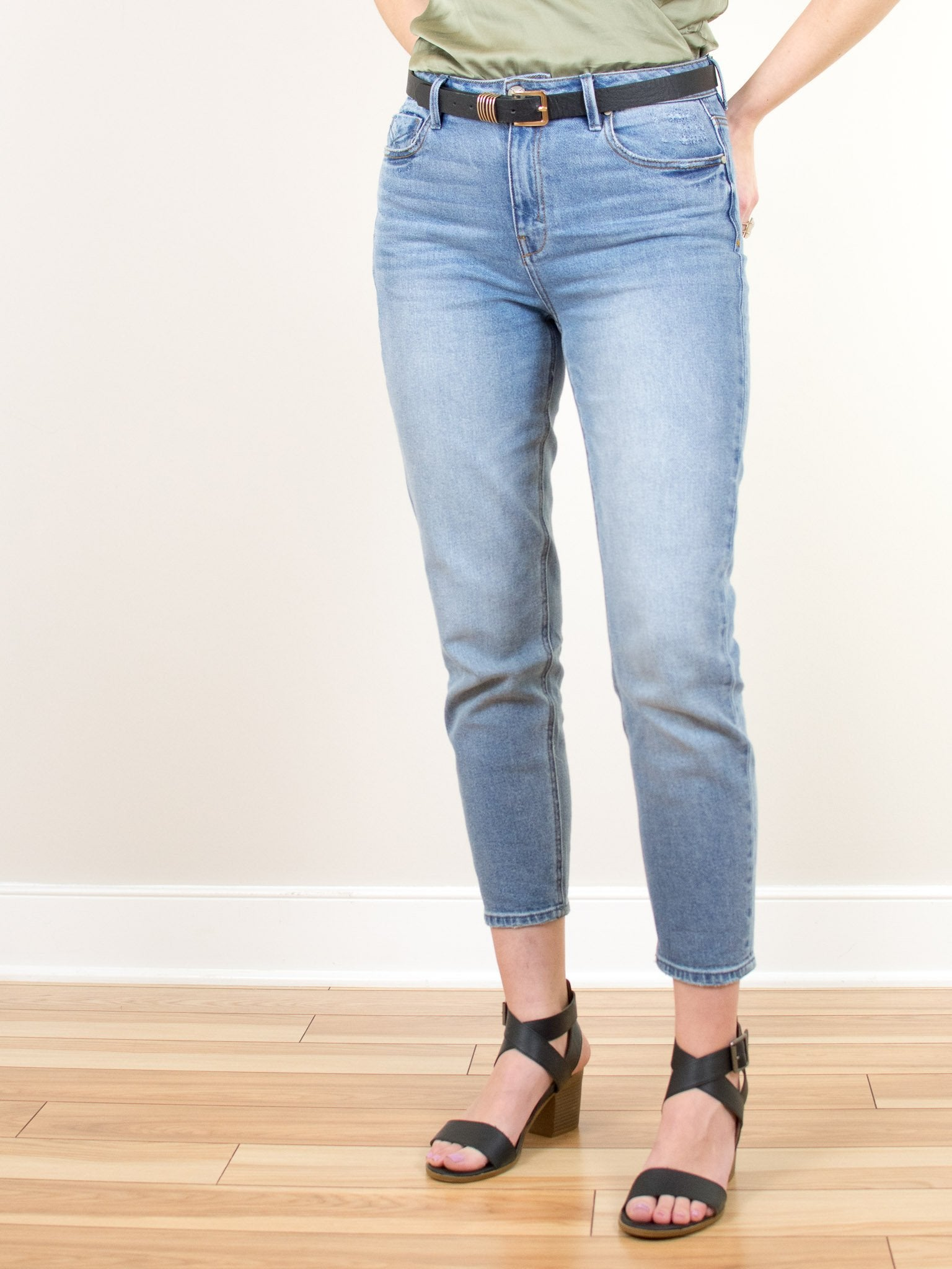 The Mom Jean by Unpublished