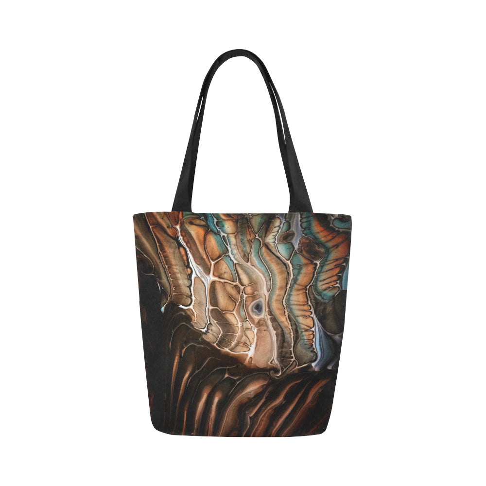 Canvas Fine Art Tote Bag - Chocolate Wasted