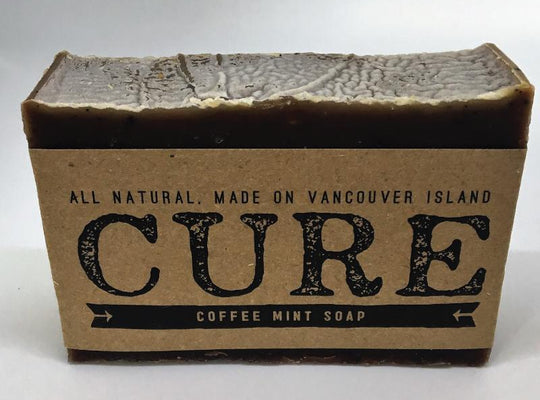 Cure Natural Soap Bars - Coffee Mint