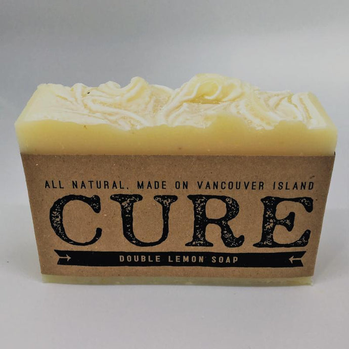 Cure Natural Soap Bars - Double Lemon