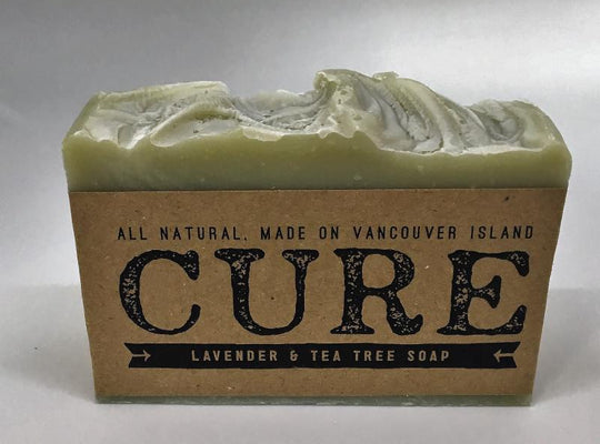 Cure Natural Soap Bars - Lavender Tea Tree