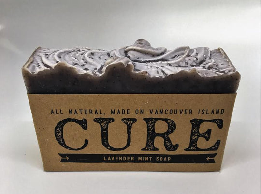 Cure Natural Soap Bars - Lavendar Mint