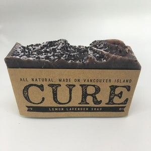 Cure Natural Soap Bars - Lemon Lavender