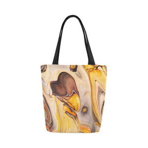 Canvas Fine Art Tote Bag - Lone Eagle, by West Coast Artist, Pattiann Withapea